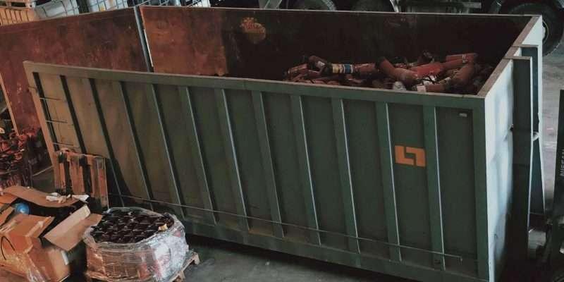 Reciclatge d'extintors