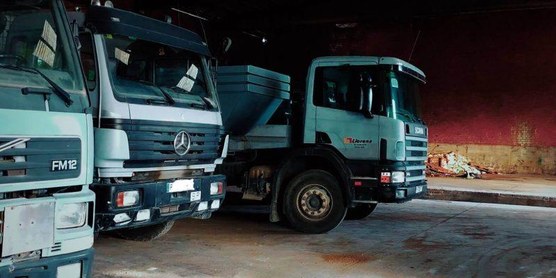Camions recollida residus