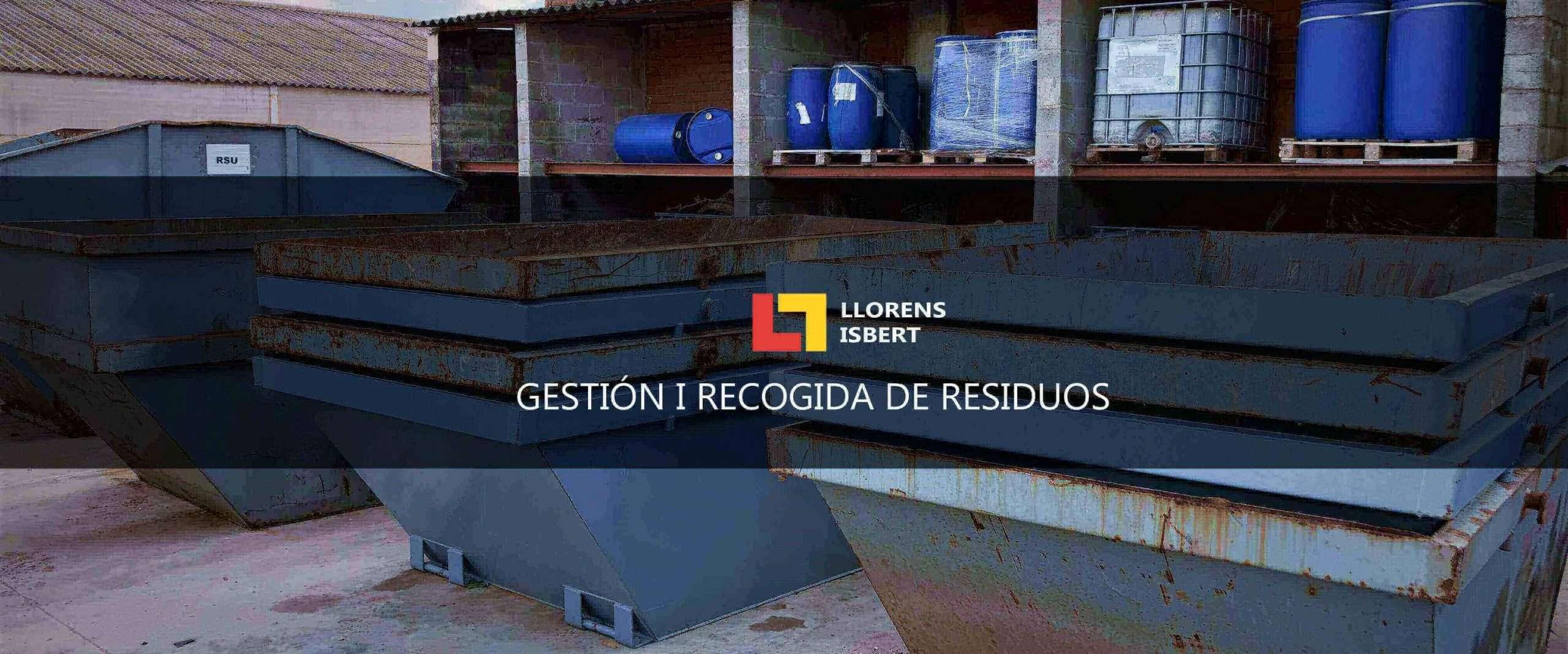gestión de Residuos industriales Igualada